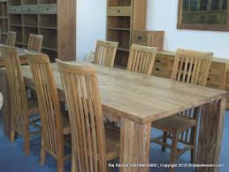 teak furniture u2013 recycled teak dining table and chair set teak