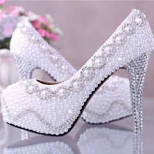 pearl wedding shoes wedding nail designs amazing white pearl wedding shoes 2058960