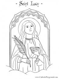 Saints Coloring Pages Catholic Playground In Catholic Saints Saints Colouring Pages