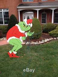 grinch christmas lights grinch grinch stealing christmas lights yard decoration