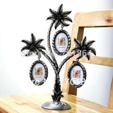 gift tree free shipping pewter photo frames coconut palm tree design 3 pictures 1 5 x 2