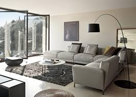 small grey sectional sofa living room magnificent small modern grey living room decoration