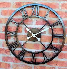 decorative clock decorative garden sun clock in a copper finish outdoor garden