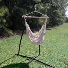 Hammock Swing With Stand Bronze Single Swing Stand Dfohome