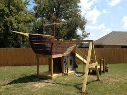how to build a pirate ship playground 8 steps with pictures