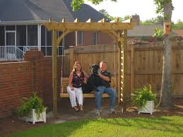 pergola swing plans images thediapercake home trend