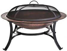 Cast Iron Outdoor Fireplace by Cobraco Fb6132 30 Inch Round Cast Iron Copper Finish Fire Pit With