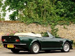 green aston martin convertible retrospect 1986 1989 aston martin v8 vantage volante
