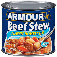 armour classic homestyle beef stew 20 oz walmart com