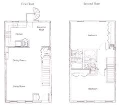 the townhomes on capitol hill floor plan 2 bedroom duplex