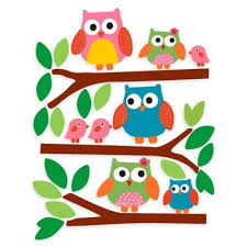 Owl Wall Decor by Walls Owls Wall Decal From Buy Buy Baby