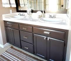 Black Bathroom Cabinet Painting A Bathroom Cabinet Black 18 With Painting A Bathroom