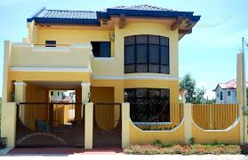 Philippine House Designs And Floor Plans For Small Houses 2 Storey Simple Home Design Philippines House Pinterest