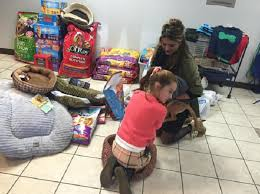 longview 8 year donates birthday presents to animals