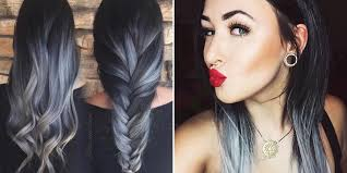 gray ombré hair trend for fall 2016 best ombré hair ideas