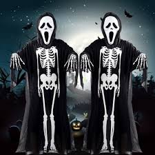 skeleton halloween costumes for kids ghost costume child promotion shop for promotional ghost costume