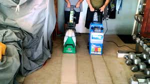 Rug Cleaning Cost Rug Doctor Vs Bissell Big Green Deep Cleaning Machine Youtube