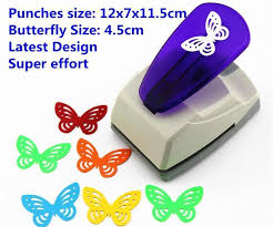 butterfly punch large butterfly shaper craft punch scrapbooking
