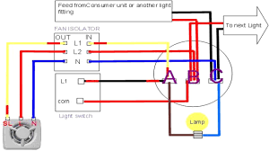 4 wire ceiling fan switch wiring diagram to hunter in with light