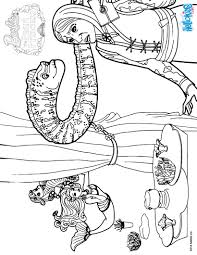 eel murray coloring pages hellokids