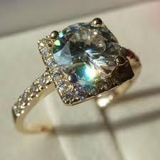 real diamond engagement rings test as real diamond brilliant 1 6 carat moissanite diamond