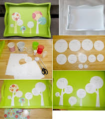 painted serving platters favorite handmade tray projects 20 easy diy serving trays