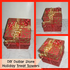 Gift Towers How To Make Holiday Gourmet Treat Gift Towers Tutorial Diy