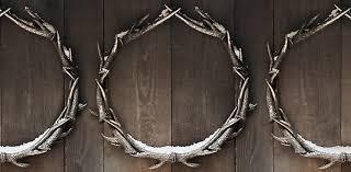 weathered antler wreaths rh