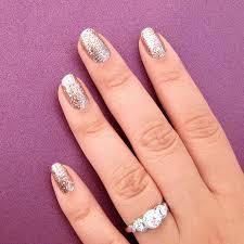incoco nail polish appliques solid colors gold glitter nail