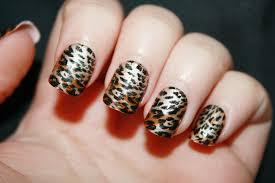 cheetah nails designs super cute cheetah nail designs you can