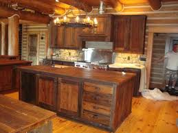 Rustic Style Kitchen Cabinets Best 25 Barn Wood Cabinets Ideas On Pinterest Rustic Kitchen