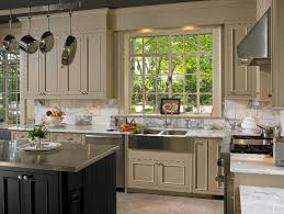 two tone cabinets in kitchen the ideas of decorating kitchen