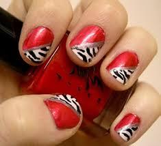 red nail art designs u2013 acrylic nail designs