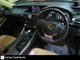 lexus is300h cvt buy used toyota lexus is300h luxury cvt car in singapore 159 800