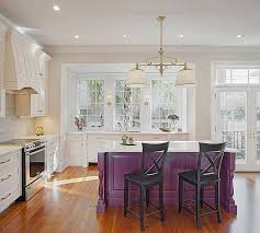 colorful kitchen islands 20 stylish kitchen purple and violet with appliances design ideas