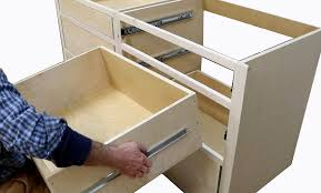 how to build kitchen cabinets from scratch build kitchen cabinets install drawer slides free design plans