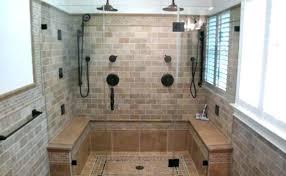 custom walk in showers custom walk in shower guideable co