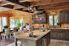 cuisine en chene repeinte cuisine decoration cuisine rustique moderne e c photo cuisine
