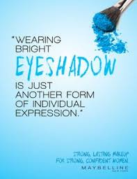 Eyeshadow Quotes confidence quote muaythai sandee posters and adverts