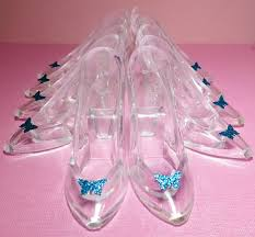 glass slipper party favor cinderella party inspiration healthy happy thrifty family