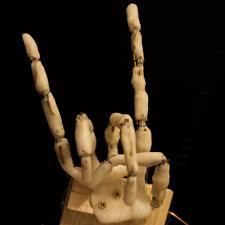 skeleton hand halloween anihand animatronic hand let u0027s make robots robotshop
