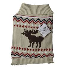 fashion pet outdoor moose sweater sweaters