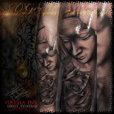 imagenes tatuajes de la virgen maria virgen maría sombras tattoo