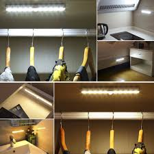 under cabinet lighting strips aliexpress com buy portable led under cabinet light motion