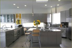 kitchen collection coupon code kitchen grey high gloss wood cabinet with metal chrome island