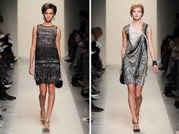 sheath style lace dresses by bottega veneta