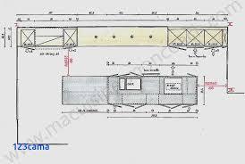 plan de cuisine moderne avec ilot central cuisine equipee avec plan de cuisine moderne avec ilot central