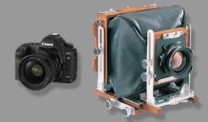 chambre grand format test canon 5d mkii contre chambre 4x5