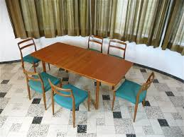 green 1970s kitchen table inch round teak dining table best