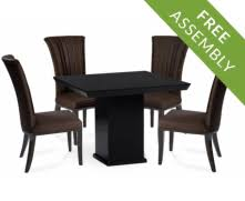 black marble dining table set marble dining tables chair sets oak furniture superstore